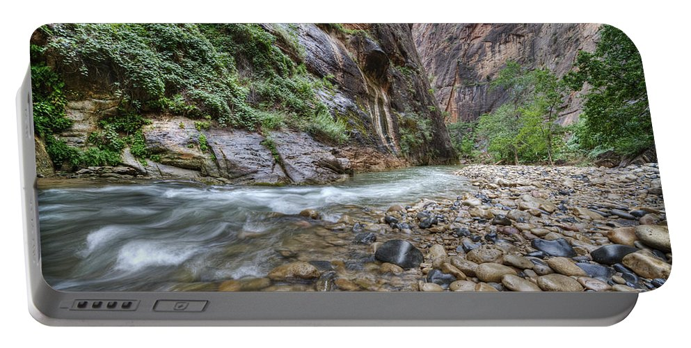 Narrows Portable Battery Charger featuring the photograph The Narrows 2 by Jessica Velasco