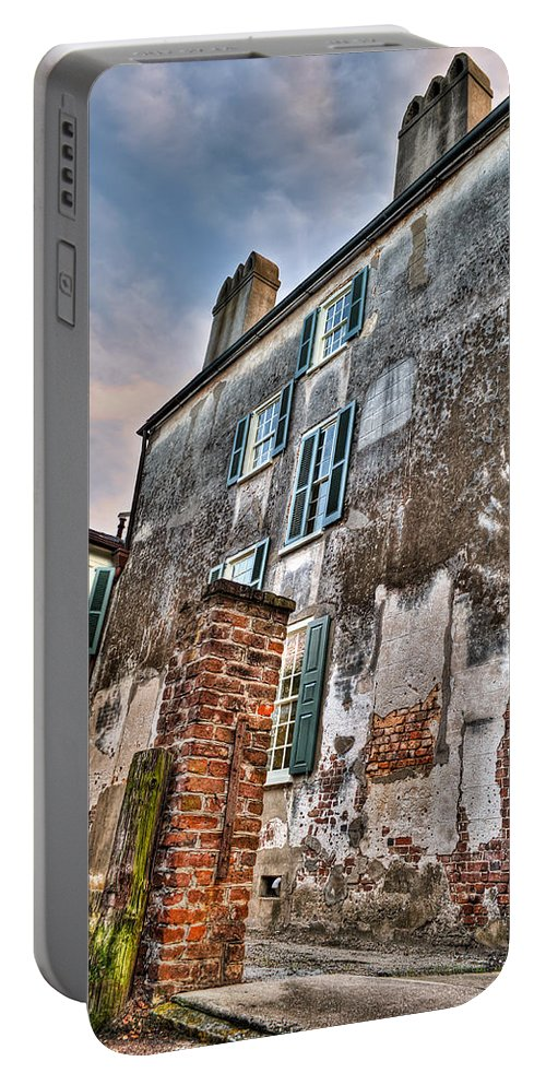 Charleston Portable Battery Charger featuring the photograph The Past Revealed by Andrew Crispi