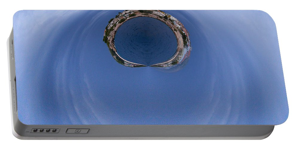 2012 Portable Battery Charger featuring the photograph The Ring Of Primosten by Jouko Lehto