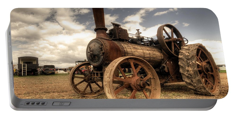 Mclaren Portable Battery Charger featuring the photograph The Rusty Mclaren by Rob Hawkins