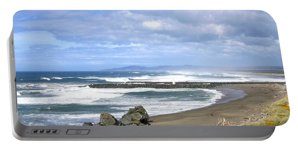 Bandon Portable Battery Charger featuring the photograph The Spectacular Oregon Coast by Will Borden