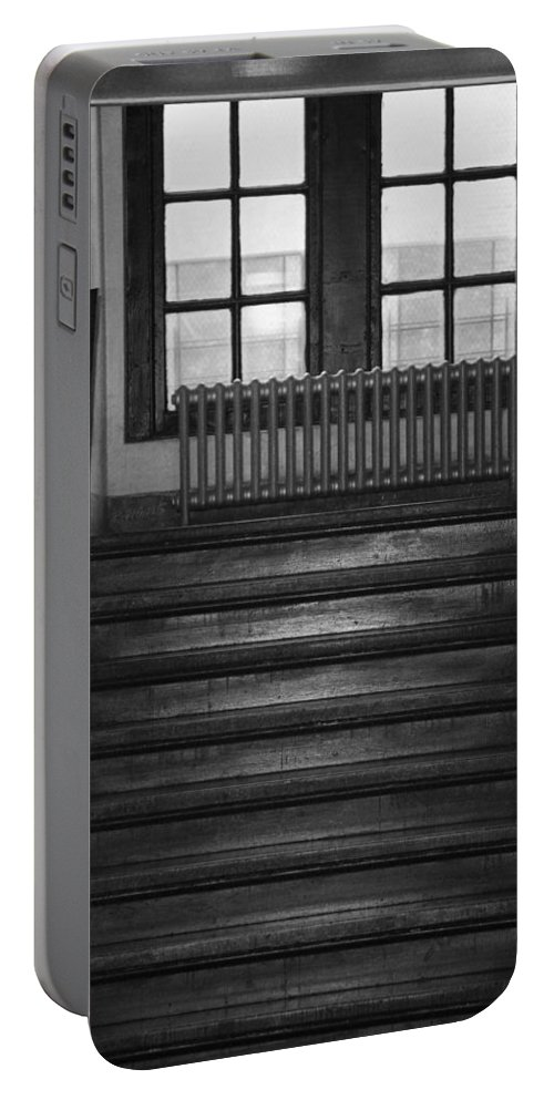 Architecture Portable Battery Charger featuring the photograph The Stairway by Rob Hans