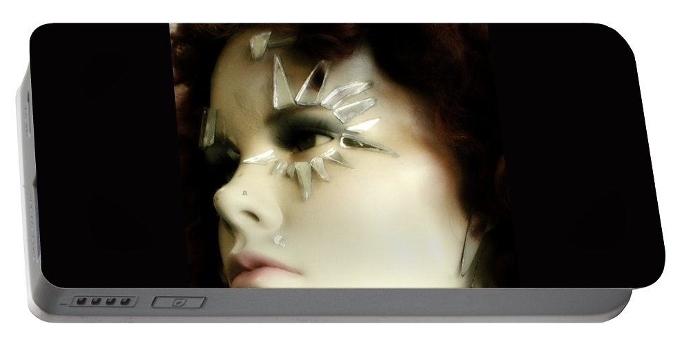Woman Portable Battery Charger featuring the photograph The State Of Things by Marysue Ryan