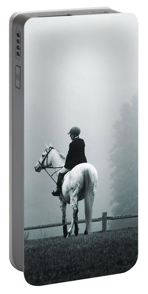 Horse Portable Battery Charger featuring the photograph The Watchman by Hannah Breidenbach