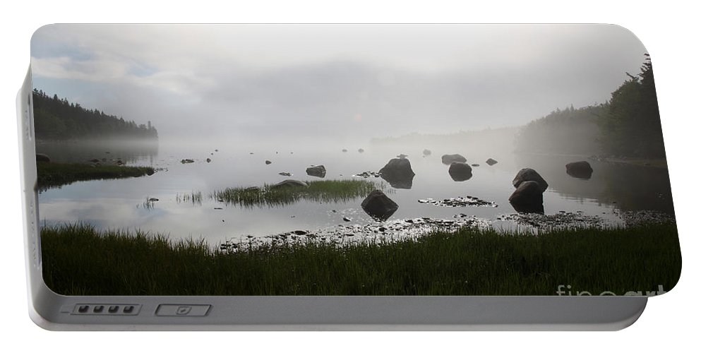 Time Portable Battery Charger featuring the photograph Tide Sequence - High by Ted Kinsman