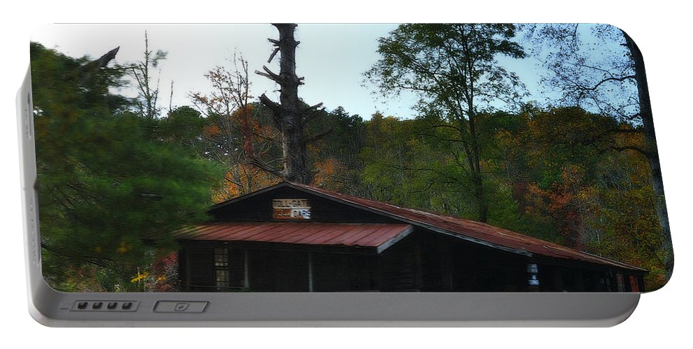 Old House Portable Battery Charger featuring the photograph Toll Gate House by Lydia Holly