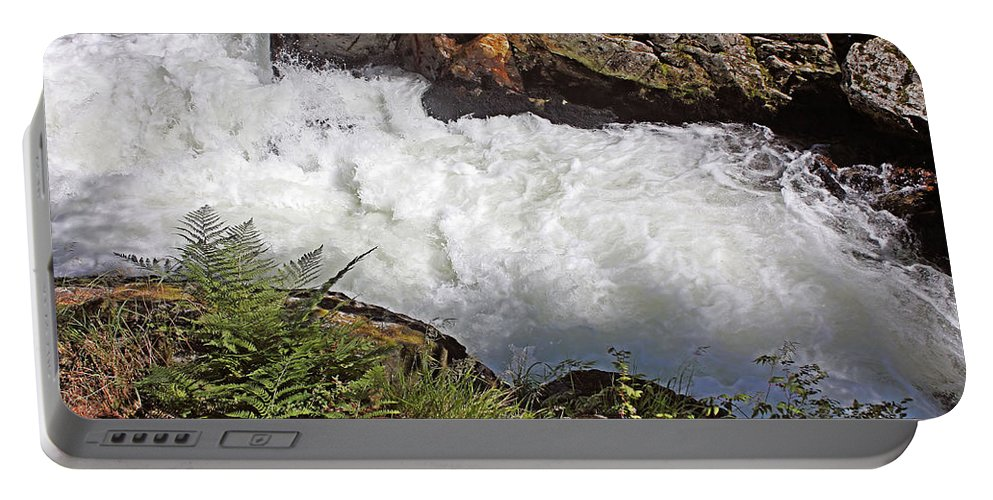 Tongass National Forest Portable Battery Charger featuring the photograph Tongass National Forest by Kristin Elmquist