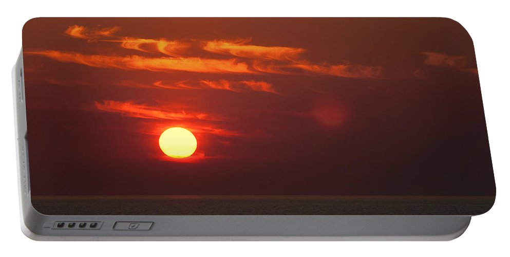 Top-end Sunset Portable Battery Charger featuring the photograph Top End Sunset by Douglas Barnard