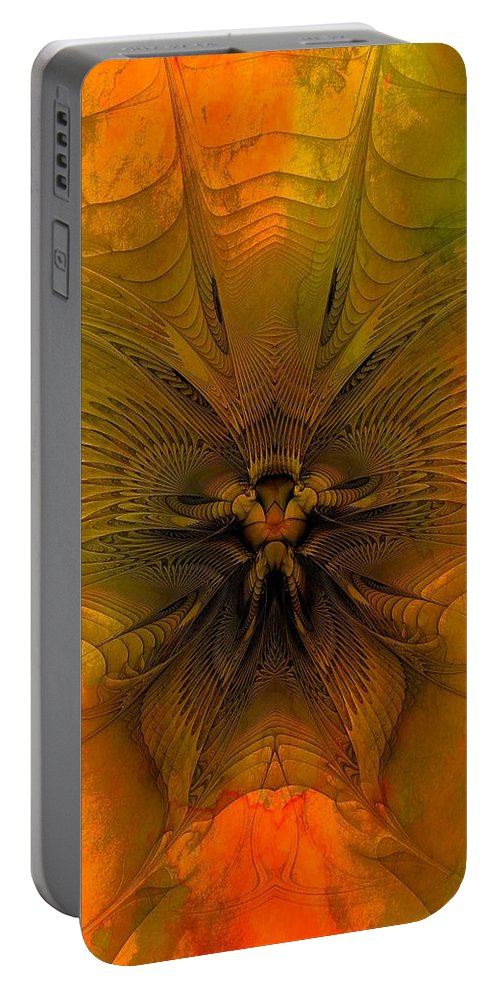 Digital Art Portable Battery Charger featuring the digital art Towards The Light by Amanda Moore
