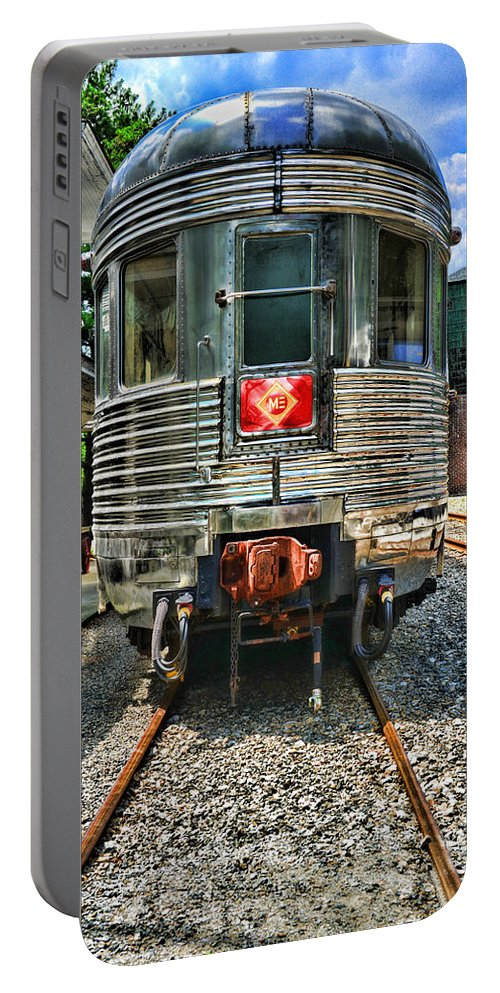 Train Portable Battery Charger featuring the photograph Train Of The Future by Paul Ward