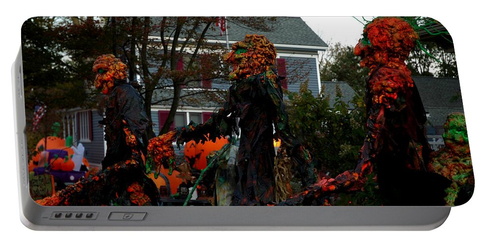 Usa Portable Battery Charger featuring the photograph Trick Or Treat by LeeAnn McLaneGoetz McLaneGoetzStudioLLCcom