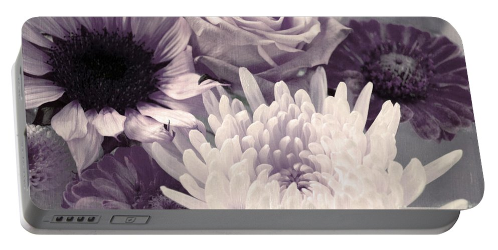 Flowers Portable Battery Charger featuring the photograph Trust by Tara Turner
