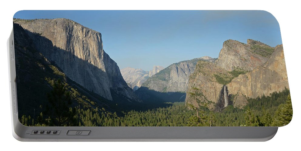 Yosemite National Park Portable Battery Charger featuring the photograph Tunnel View by Cassie Marie Photography