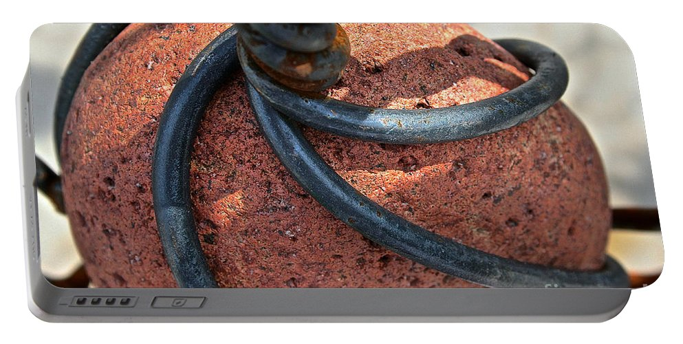 Outdoors Portable Battery Charger featuring the photograph Twisted by Susan Herber