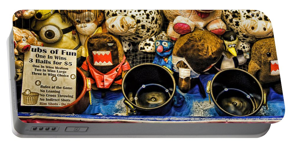 Carnival Portable Battery Charger featuring the photograph Ubs Of Fun by Bob Orsillo