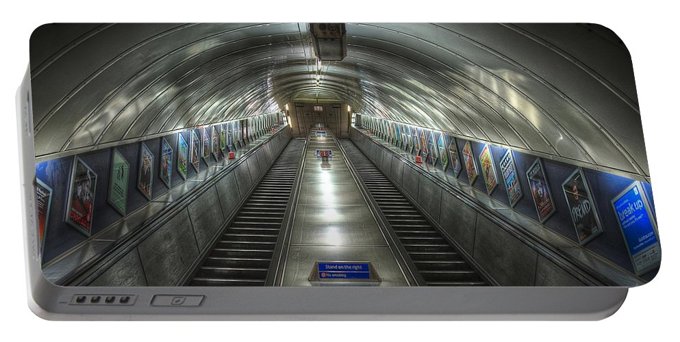 Architecture Portable Battery Charger featuring the photograph Underground 07 by Svetlana Sewell