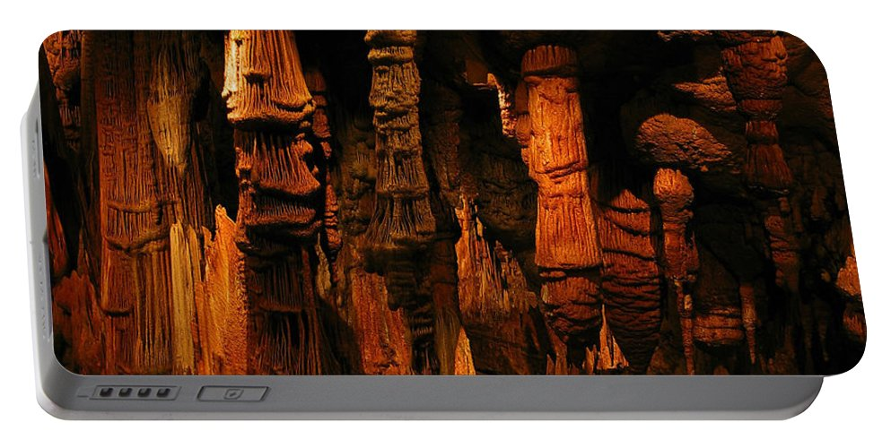 Landscape Portable Battery Charger featuring the photograph Underground Splendor by Rebecca Morgan