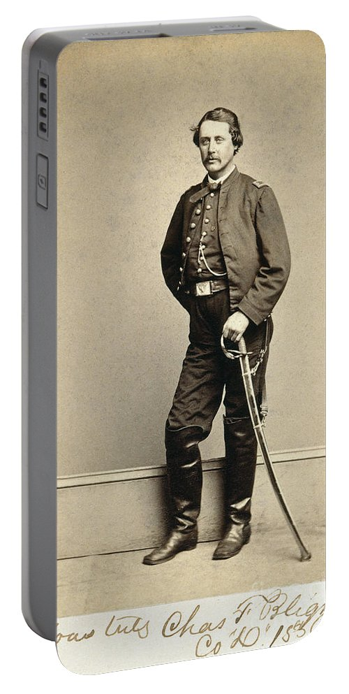 1860s Portable Battery Charger featuring the photograph Union Soldier, 1860s by Granger