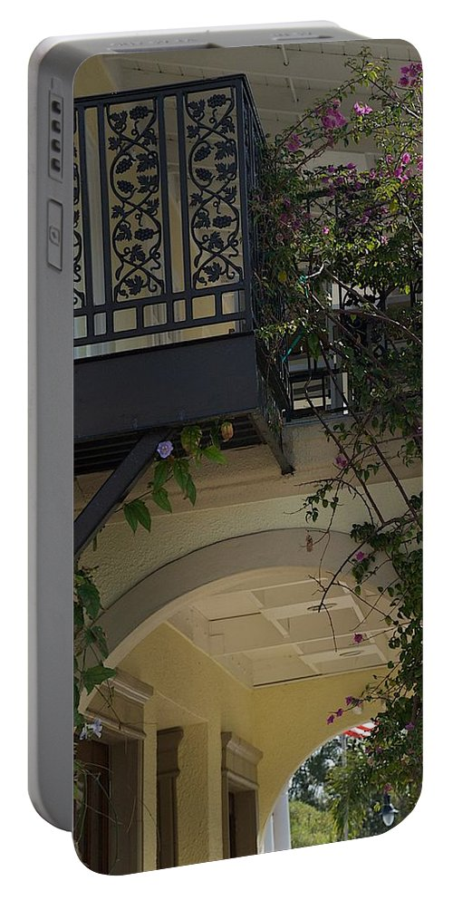 Balcony Portable Battery Charger featuring the photograph Up by Joseph Yarbrough
