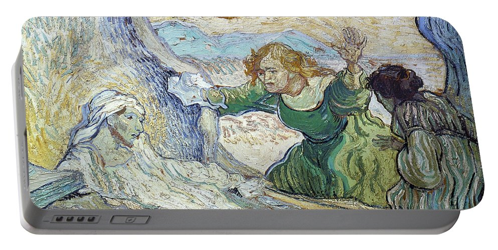 1890 Portable Battery Charger featuring the photograph Van Gogh: Lazarus by Granger