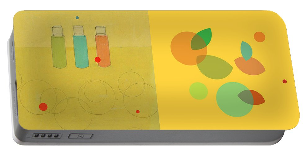 Painting Portable Battery Charger featuring the painting Variations Apart by Kathleen Grace