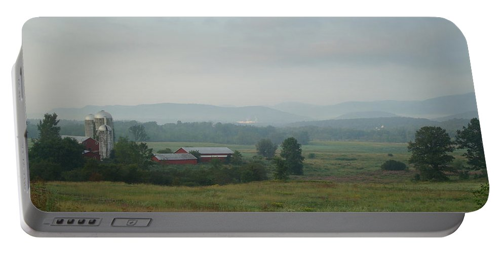 Vermont Portable Battery Charger featuring the photograph Vermont by Maili Page