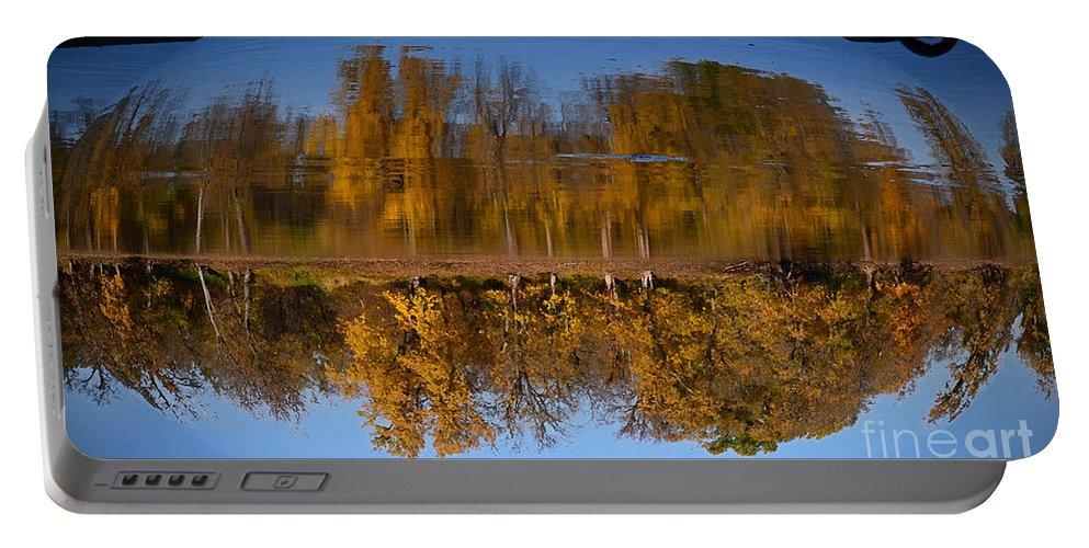 Color Photography Portable Battery Charger featuring the photograph Vertigo by Sue Stefanowicz