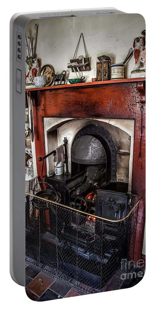 Architecture Portable Battery Charger featuring the photograph Victorian Range by Adrian Evans