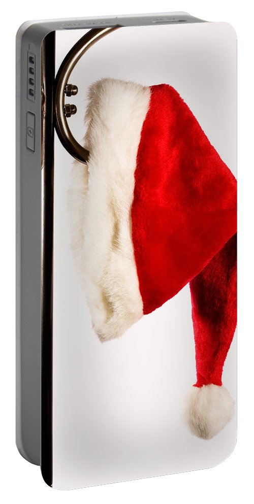 Fun Portable Battery Charger featuring the photograph Waiting For Christmas Day by Diane Macdonald
