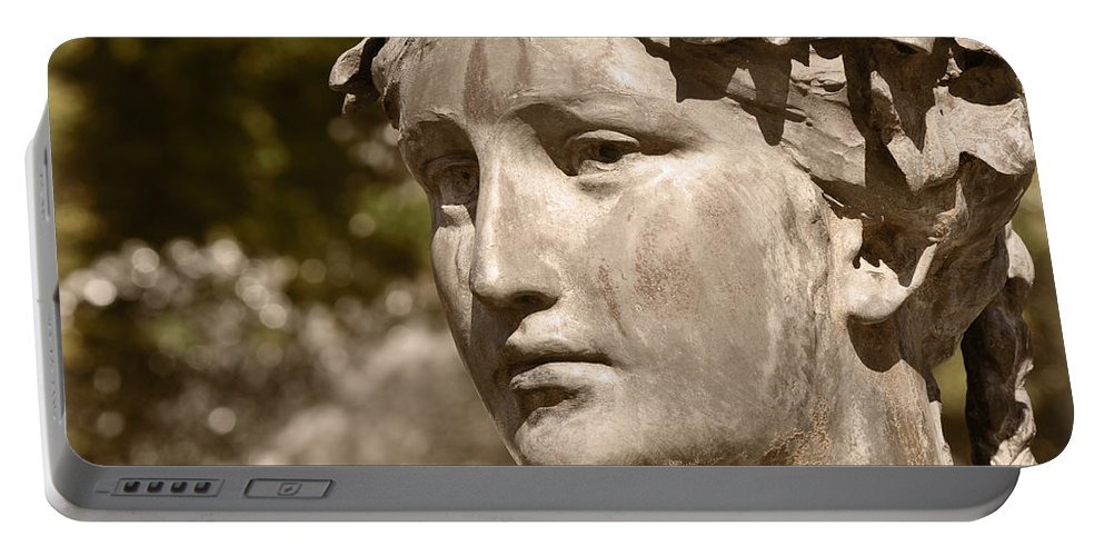 Greek Portable Battery Charger featuring the photograph Waiting by Mary Machare