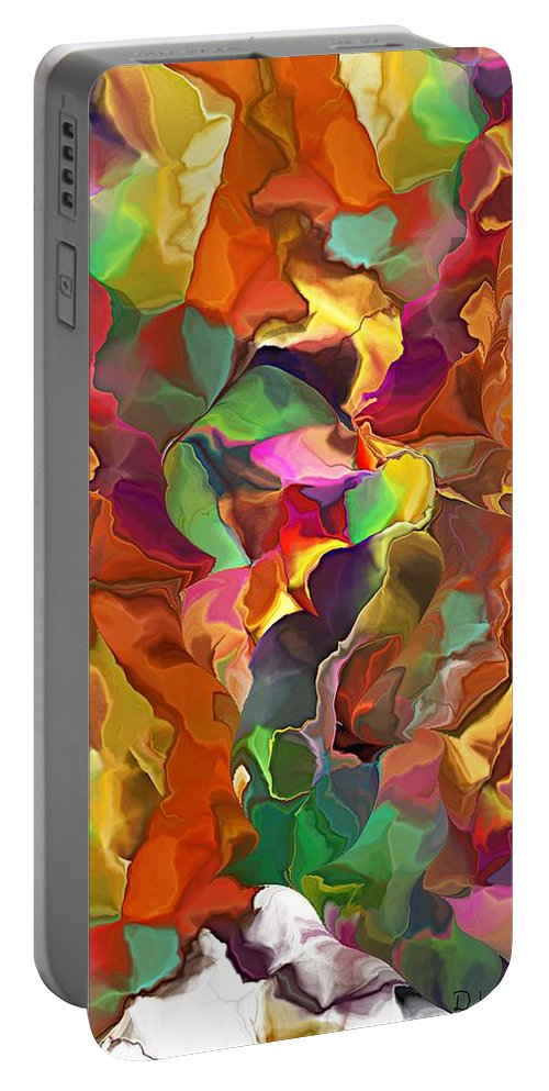Fine Art Portable Battery Charger featuring the digital art Wanderer by David Lane