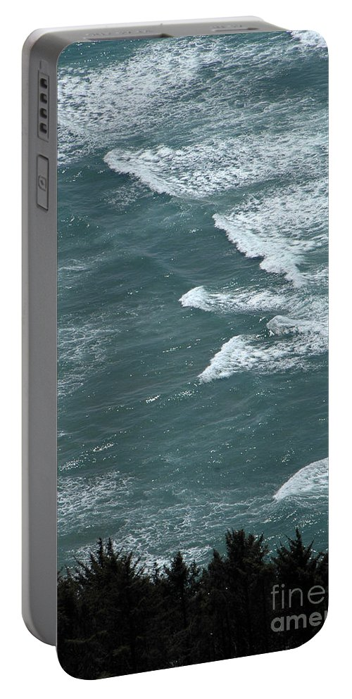 Waves Portable Battery Charger featuring the photograph Waves In The Sky by Mike Nellums