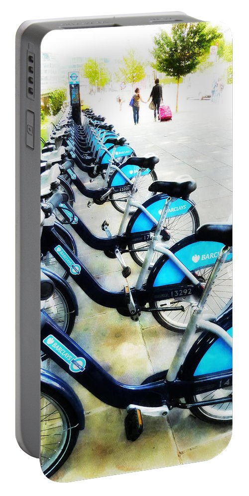 Bike Portable Battery Charger featuring the photograph We Prefer To Walk by Steve Taylor
