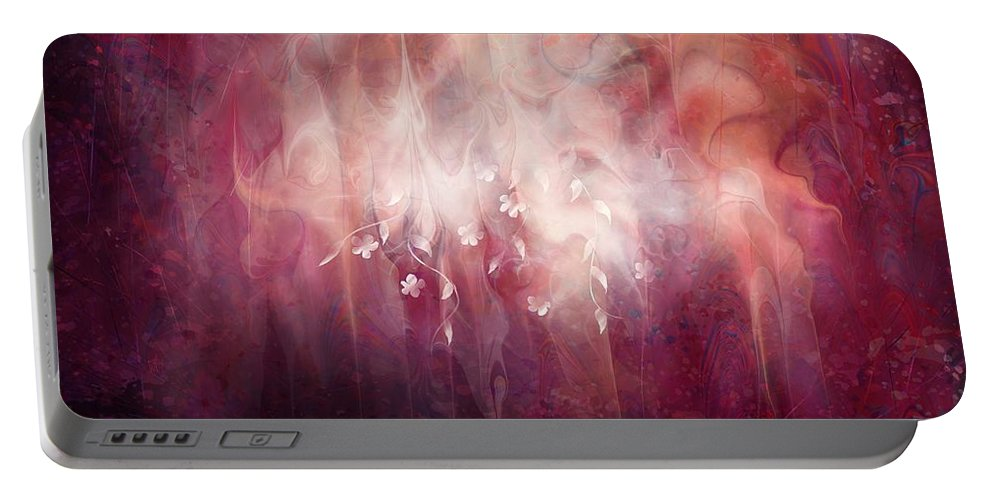 Landscape Portable Battery Charger featuring the digital art Weight of Glory by William Russell Nowicki