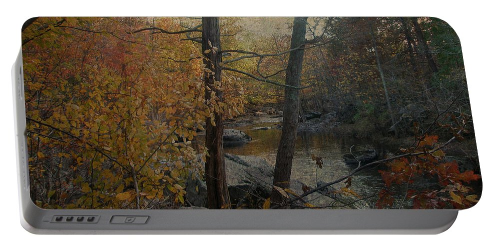 Creek Portable Battery Charger featuring the photograph Where Water Flows by Mother Nature