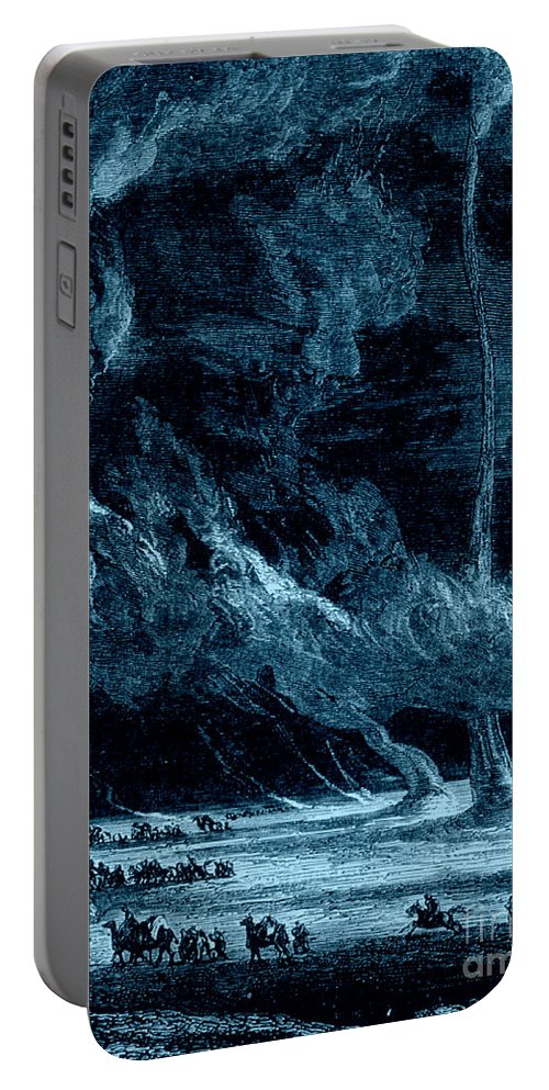 Science Portable Battery Charger featuring the photograph Whirlwinds 1873 by Photo Researchers