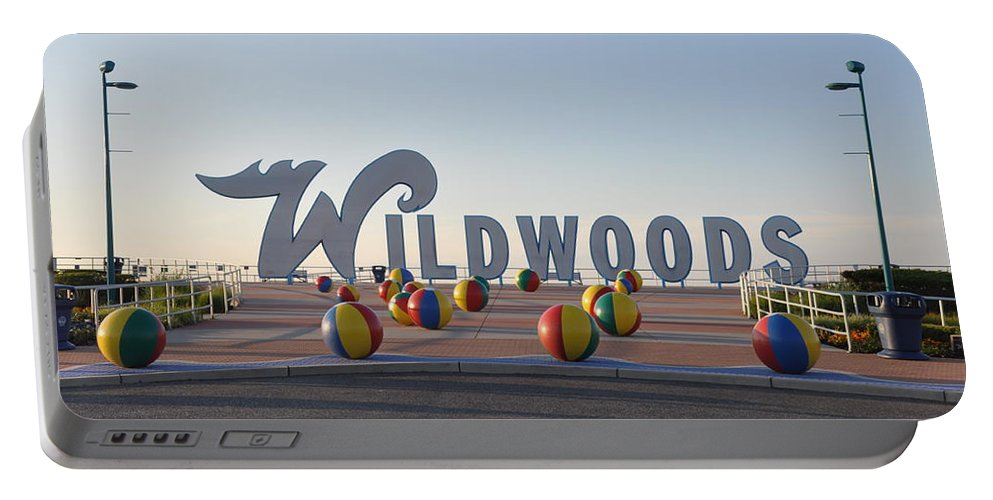 Wildwoods Portable Battery Charger featuring the photograph Wildwoods by Bill Cannon