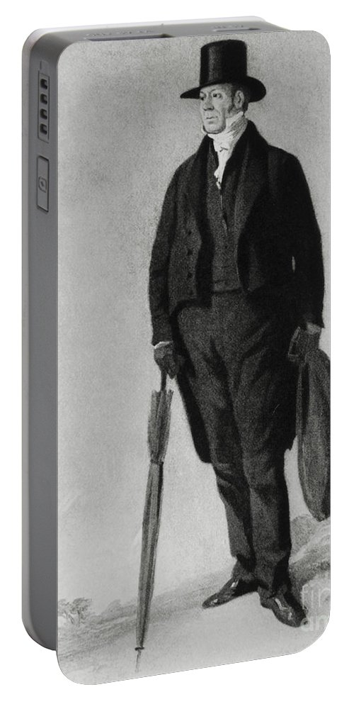 Science Portable Battery Charger featuring the photograph William Buckland, English Paleontologist by Photo Researchers