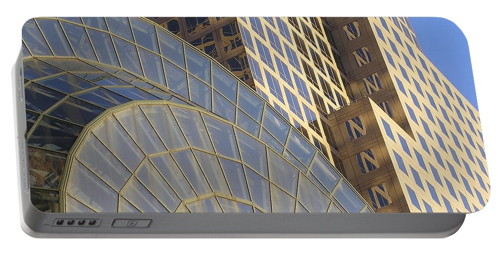Architecture Portable Battery Charger featuring the photograph Winter Garden by Stefa Charczenko