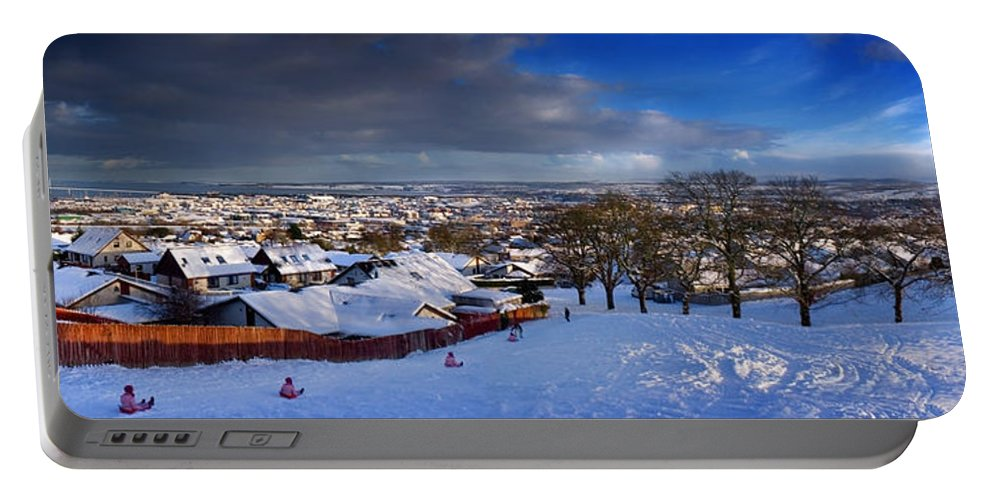 Winter In Inverness Portable Battery Charger featuring the photograph Winter In Inverness by Joe Macrae
