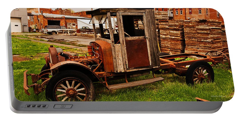 Barns Portable Battery Charger featuring the photograph Workhorse by Edward Peterson