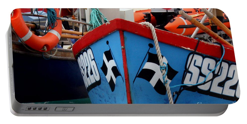 Harbour Portable Battery Charger featuring the photograph Working Harbour by Terri Waters