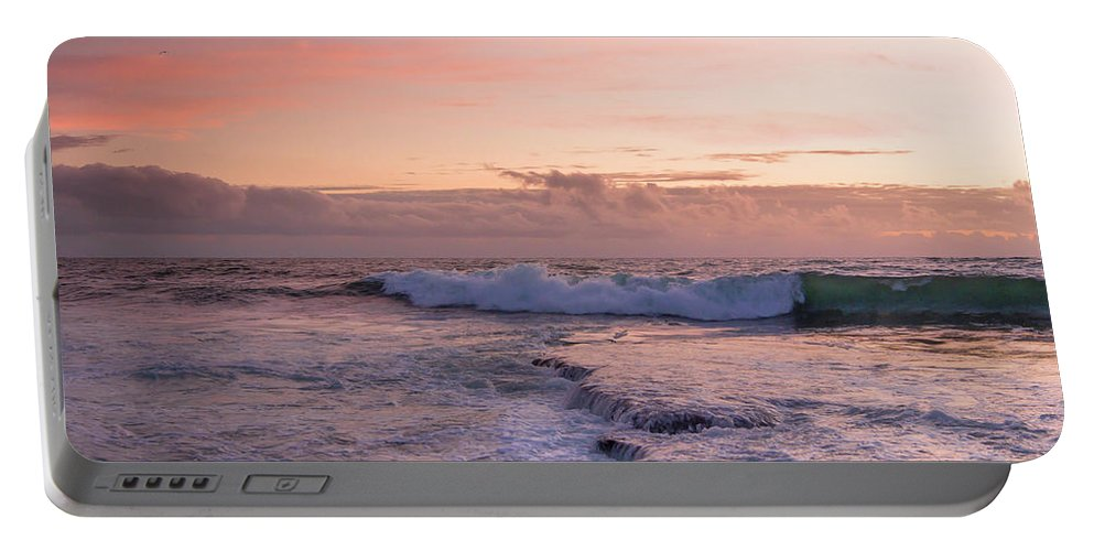 Edgar Laureano Portable Battery Charger featuring the photograph At Nightfall by Edgar Laureano