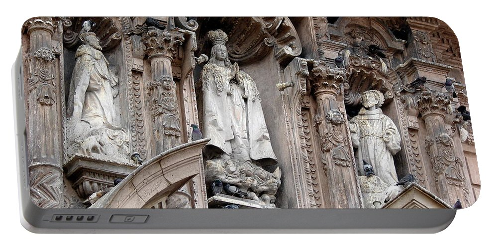 Lima Portable Battery Charger featuring the photograph Lima Peru Church II by Brett Winn
