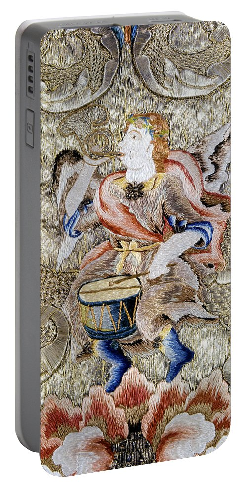 18th Century Portable Battery Charger featuring the painting Chasuble, 18th Century by Granger