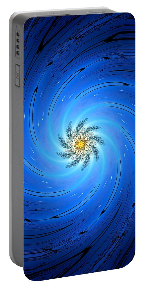 Portable Battery Charger featuring the photograph 014 by Phil Koch