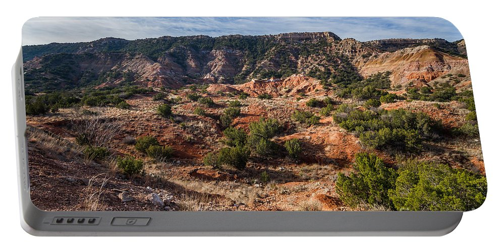 Palo Duro Canyon Portable Battery Charger featuring the photograph 030715 Palo Duro Canyon 025 by Ashley M Conger