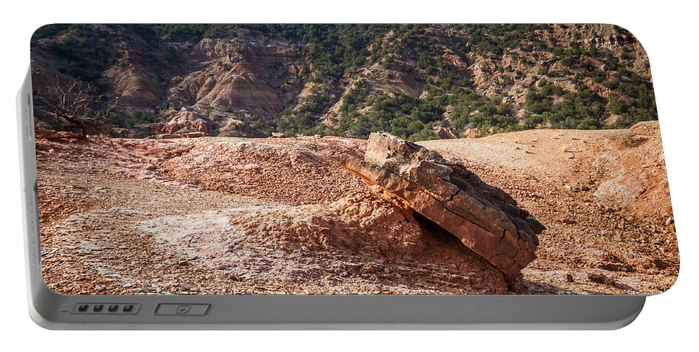 Palo Duro Canyon Portable Battery Charger featuring the photograph 030715 Palo Duro Canyon 049 by Ashley M Conger