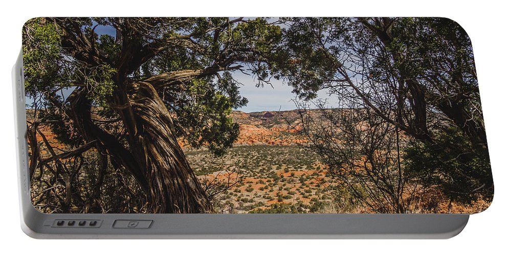 Palo Duro Canyon Portable Battery Charger featuring the photograph 030715 Palo Duro Canyon 092 by Ashley M Conger
