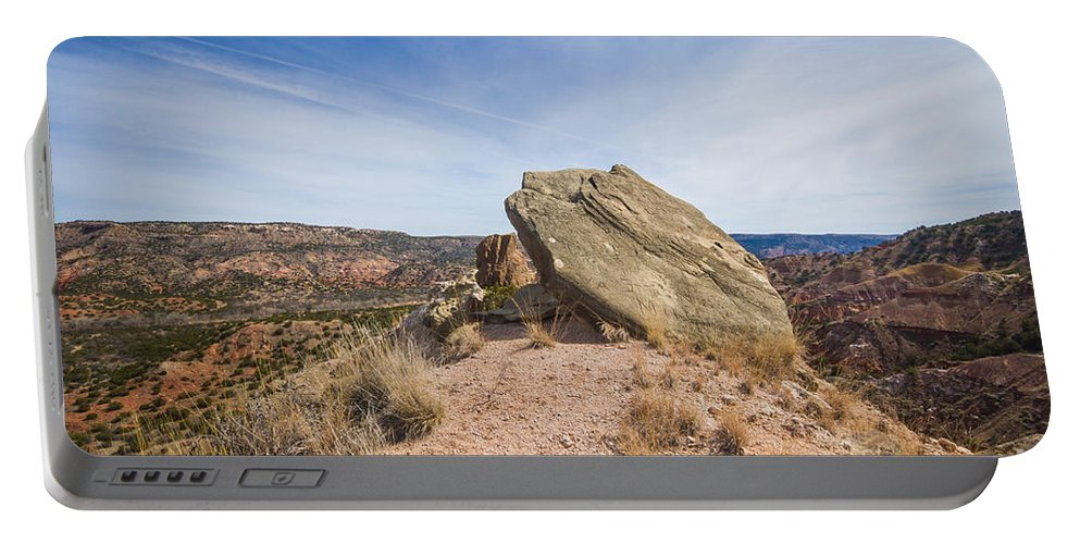 Palo Duro Canyon Portable Battery Charger featuring the photograph 030715 Palo Duro Canyon 123 by Ashley M Conger